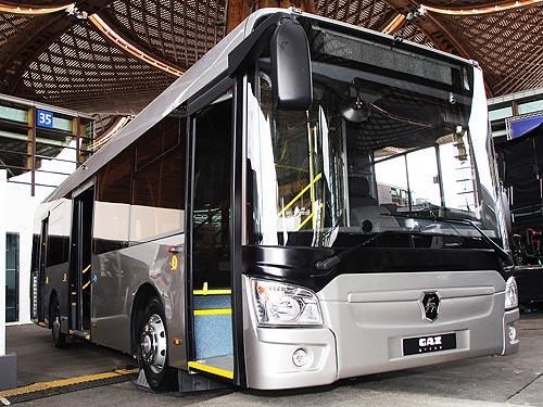ГАЗ на выставке в Ганновере представляет коммерческий транспорт нового поколения. Фото - ГАЗ