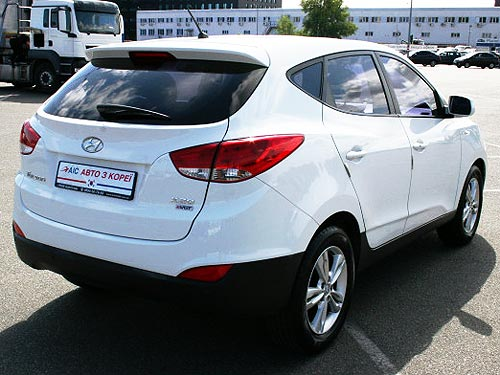 Б-у кроссоверы Hyundai Tucson можно купить с выгодой до 35 000 грн. - Hyundai
