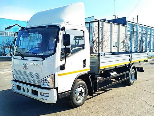 Среднетоннажный грузовик FAW Tiger V доступен с выгодой 45 000 грн.