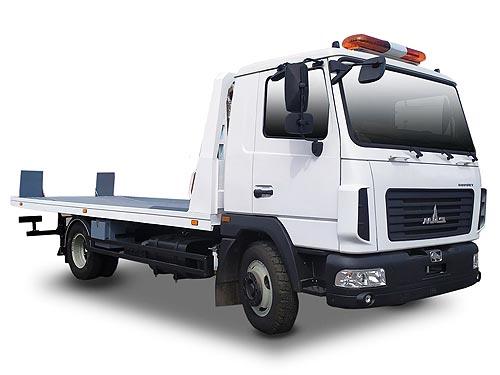В Украине выпустили новую модель автоэвакуатора на шасси МАЗ - МАЗ