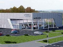 Во Львове начато строительство Терминала Audi
