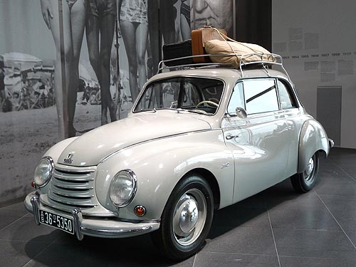Музей Audi: роскошь, скорость и экономичность