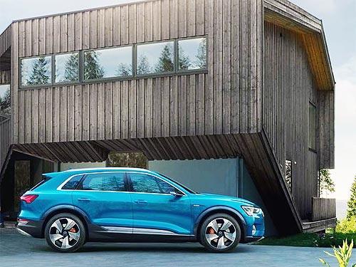 Audi e-tron стал самым популярным электромобилем в Украине - Audi