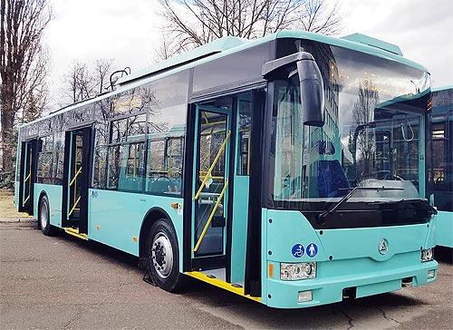 Чернигов закупит 4 троллейбуса Эталон Т121 - Эталон