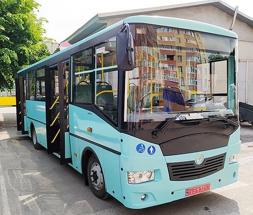 Автобус «Эталон» приехал в Тернополь