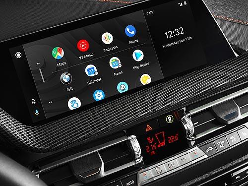 В 2020 году на автомобилях BMW появится Android Auto