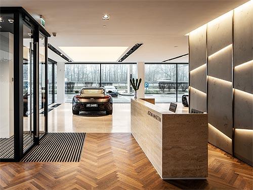 В Украине открылся новый дилерский центр Aston Martin - Aston Martin