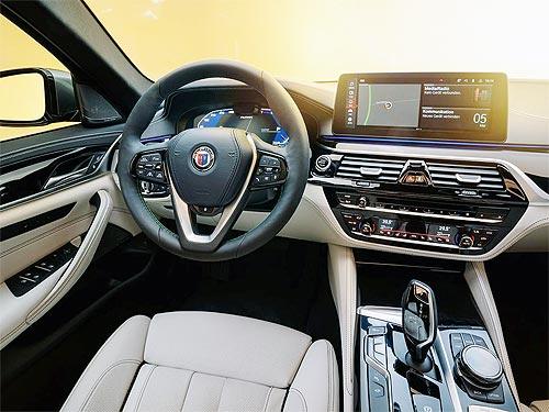 BMW ALPINA B5 обновилась. Фото - BMW