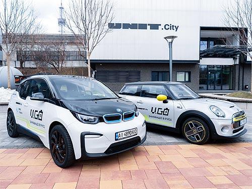BMW и MINI в Украине запускают сервис каршеринга