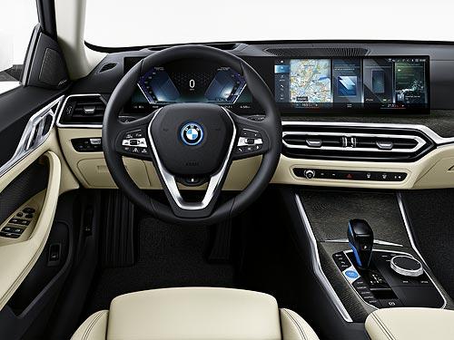 Новый электромобиль BMW i4 будет разгоняться до 100 км/ч за 3,9 с и иметь запас хода более 500 км - BMW