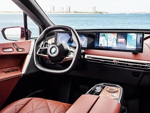 Объявлены украинские цены на новые полностью электрические BMW iX - BMW