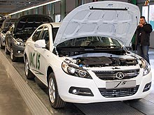 В Украине начали производить новую модель автомобиля – JAC J5 - JAC