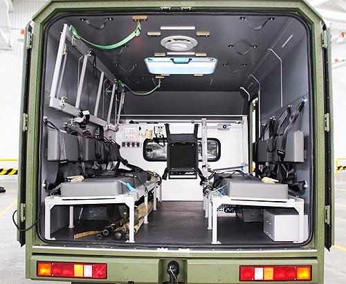 Военные получили первую партию обновленных санитарных Богдан 2251 - Богдан