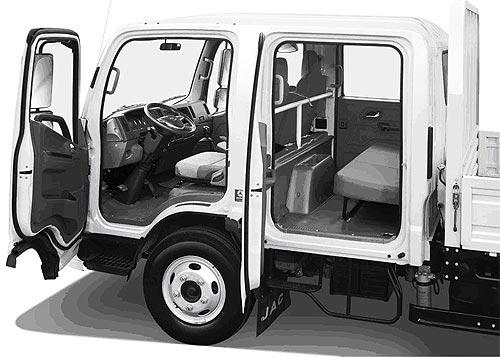 В Украине зафиксированы специальные цены на среднетоннажные грузовики JAC N56 - JAC
