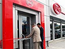 В Киеве открылся новый дилерский центр BYD «ЮМАС-Авто»
