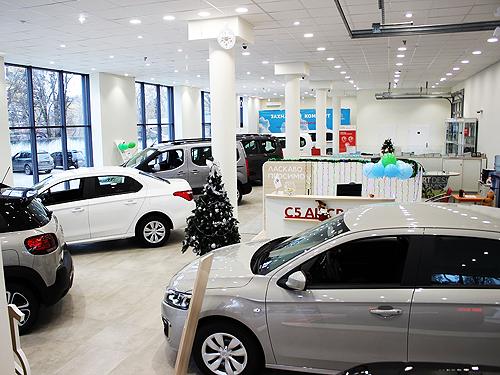 Вопреки кризису, в Украине с начала года открыты 4 новых дилерских центров CITROEN