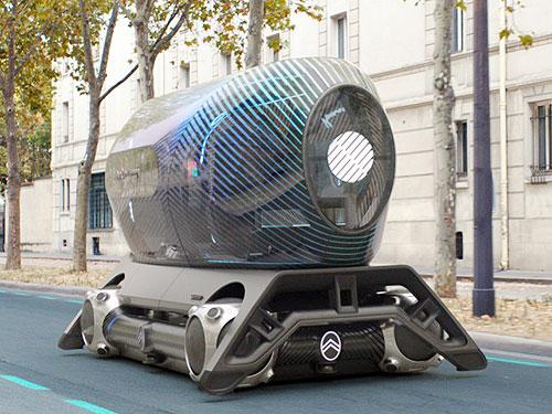 CITROEN представиляет новую концепцию транспорта ближайшего будущего
