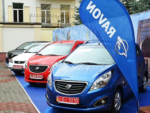 Автомобили Ravon доступны в кредит от 69 грн. в день