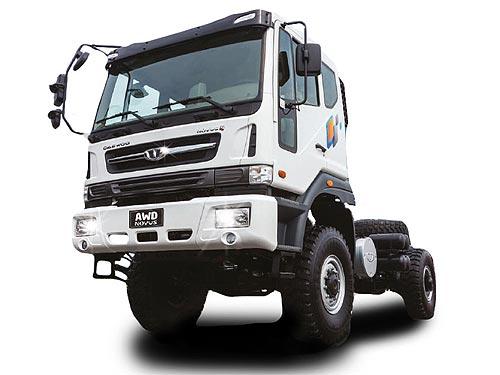 Для Украинской армии предложили армейские полноприводные грузовики Daewoo - Daewoo