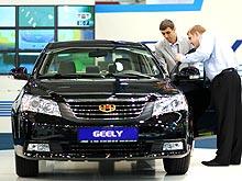 Geely Emgrand 7 удерживает лидирующие позиции в Украине - Geely