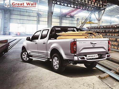 В Украине дебютирует новый пикап Great Wall Wingle 7 - Great Wall
