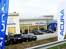 Под Киевом открылся новый автосалон Acura