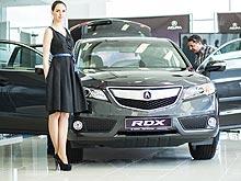 В Украине уже открылись два дилерских центра Acura