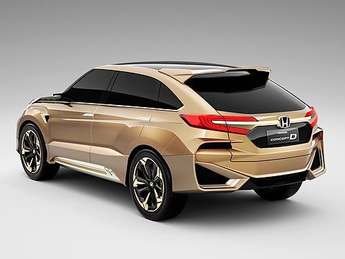 Honda представила концепт нового внедорожника - Honda