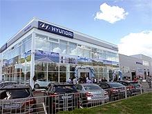 В Киеве на Левом берегу открылся новый дилерский центр Hyundai
