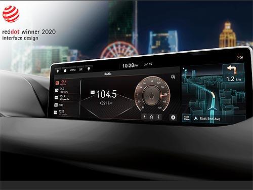 Hyundai получил семь наград Red Dot Design Awards 2020