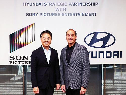 Hyundai Motor и Sony Pictures начинают стратегическое партнерство