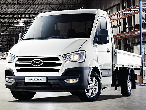 Уже в июне в Украине стартуют продажи нового малотоннажного грузовика Hyundai H350