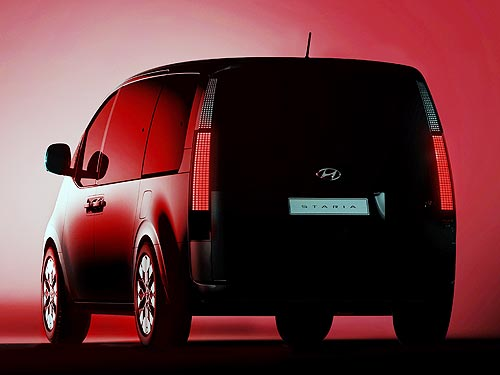 Hyundai показал, как будет выглядеть новая футуристическая модель MPV Hyundai STARIA - Hyundai