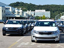 Как создают автомобили KIA. Репортаж с завода в Корее - KIA