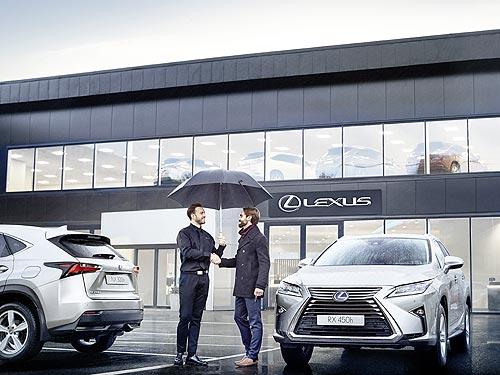Lexus начинает отбор нового уполномоченного дилера бренда в Киеве