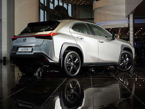 В Украине стартовали продажи компактного гибридного кроссовера Lexus UX250h в новой комплектации Ninja - Lexus