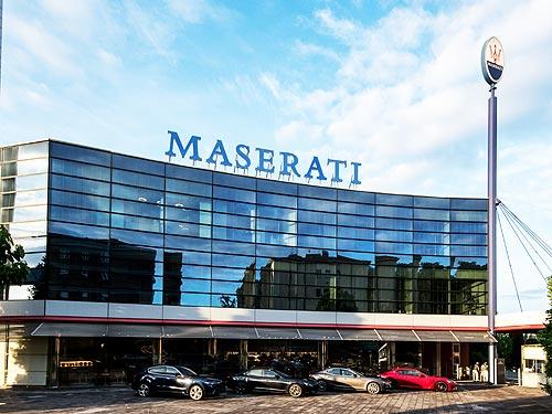 Maserati отмечает 105-летие