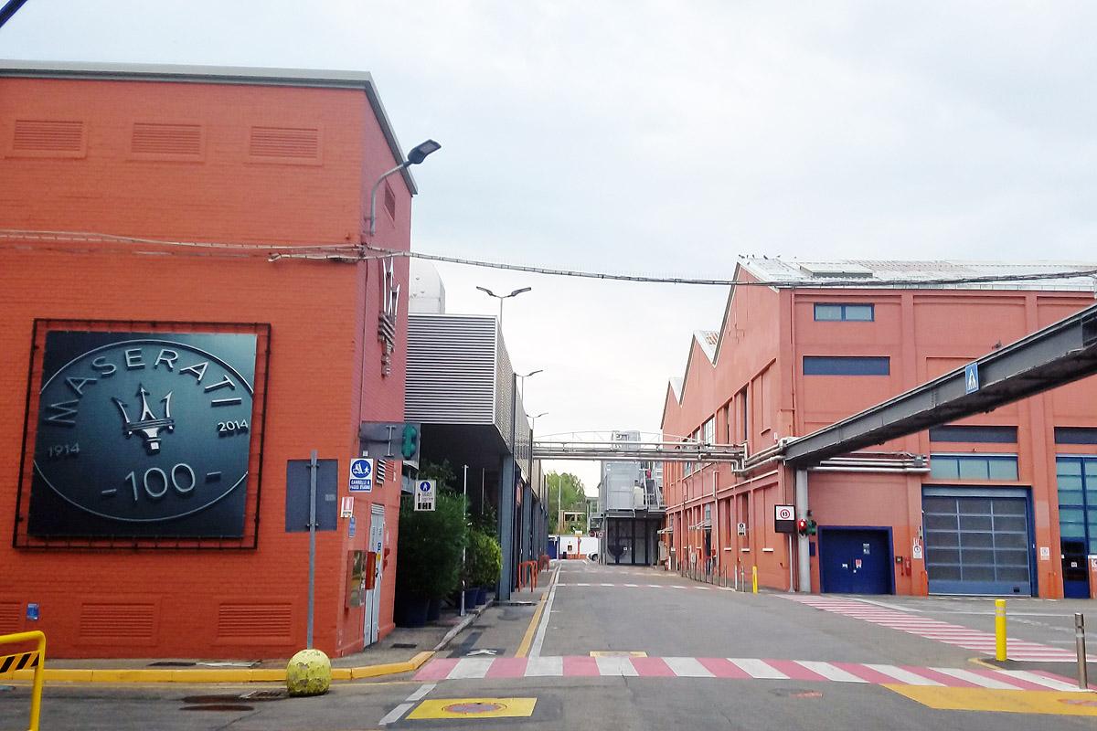 Maserati планирует открыть завод в Модене 6 апреля