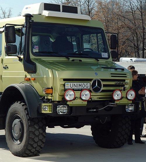 Mercedes-Benz Unimog получил награду «Off Road-Внедорожник 2012»: Авто новости от AUTO ...