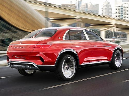 Mercedes-Maybach представили концепт первого кроссовера - Maybach
