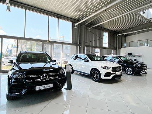 В Днепре открылся новый дилерский центр Mercedes-Benz