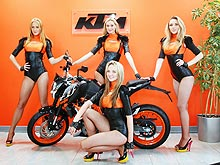 В Киеве открылся официальный мотосалон КТМ