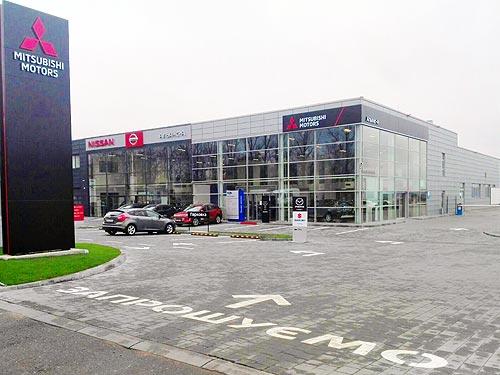 В Ивано-Франковске открылся новый официальный дилер Mitsubishi