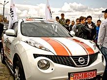 Дилер Nissan Авто-Импульс представил Парад чемпионов в День города