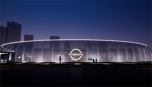 Nissan представил новый логотип - Nissan