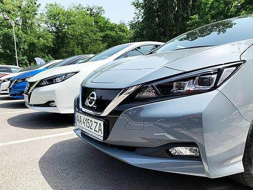 В Украине официально представили новый Nissan Leaf - Nissan