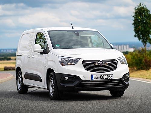 В Украине стартуют продажи фургона Opel Combo Cargo. Объявлены цены