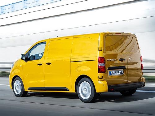 OPEL выводит на рынок новый полностью электрический фургон OPEL Vivaro-e - OPEL