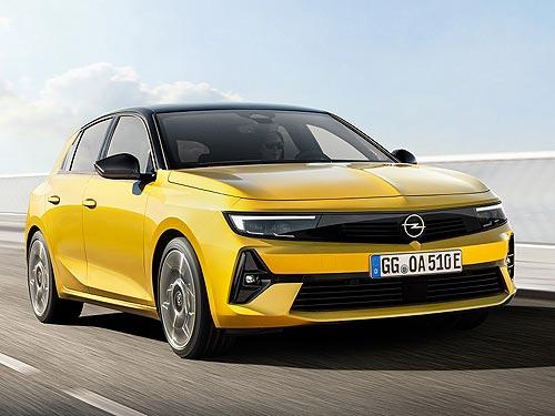 Opel Astra отмечает 30-летний юбилей