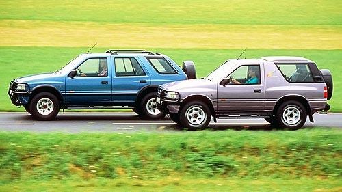 Opel Frontera отмечает 30-летие - Opel